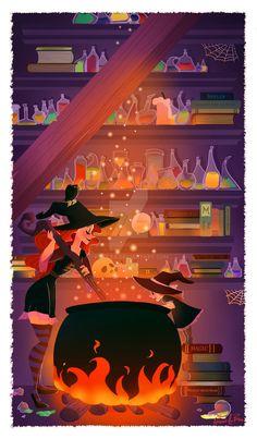 witchcraft in progress by Vijolea