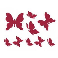stencil farfalle
