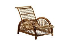 Paris Chair, de rattan, 68 x 83 x 102 cm, design Arne Jacobsen, Sika Design, na Scandinavia Designs, preço sob consulta