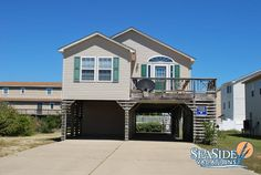 "#KillDevilHills #Rentals #OuterBanks ""Beach Bliss"" is a 4BR 3BA 