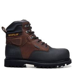 Caterpillar Men's Creston Medium/Wide Composite Toe Work Boots (Oak Leather) - W Waterproof Steel Toe Boots, Composite Toe Work Boots, Shoes World, Goodyear Welt, Womens Slippers, Fashion Boots, Designer Shoes, Character Shoes, Hiking Boots