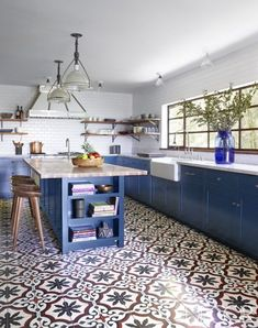10+ Most Popular Kitchen Color Ideas and Combination   Colorful Kitchen  Love the Kitchen Color and of course the Cabinet!. Really! You have to check yourself!  #Kitchen #KitchenIdeas #Cabinet #KitchenCabinet #KitchenColor #KitchenRemodel