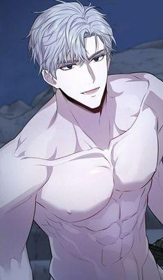 Anime W, Dark Anime Guys, Cool Anime Guys, Hot Anime Boy, Otaku Anime, Anime Guys Shirtless, Handsome Anime Guys, Fantasy Art Men, Anime Poses Reference