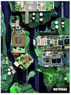 電子廃棄物ニューヨーク市のポスター