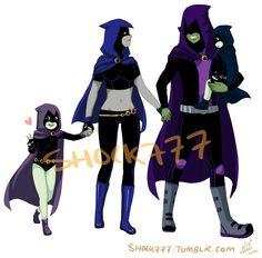 BB x Rae Family You gotta admit this so cute! Teen Titans Love, Teen Titans Fanart, Original Teen Titans, Character Art, Character Design, Raven Cosplay, Raven Beast Boy, Drawing Superheroes, Bbrae