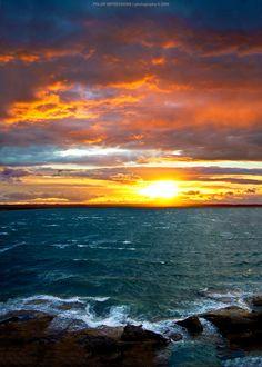 Botany Bay Sunset by PolarExtremesStudio