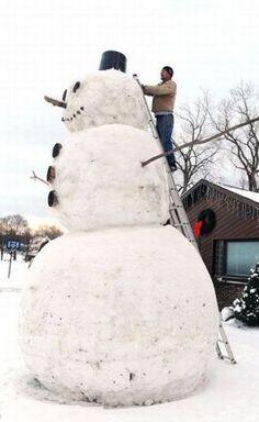 biiiig snowman