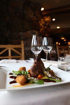 Delightful Glitretind dining with #SteinStyle. #SteinEriksenLodge