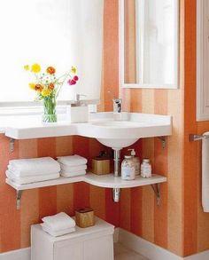 Bathroom sink storage