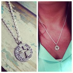 By Grace I Am Saved Necklace by stampedandstrung on Etsy, $22.50