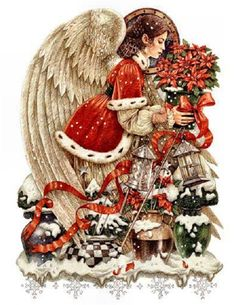 Images of art by Anne Yvonne Gilbert | Christmas Illustrations by Anne Yvonne Gilbert