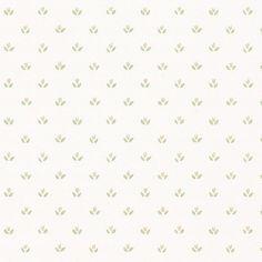 Norwall Wallcoverings Inc Fresh Kitchens V x Mini Tulip Wallpaper Color: Beige / Green Wallpaper Color, Wallpaper Off White, Spotted Wallpaper, Brick Wallpaper, Cool Wallpaper, Victorian Wallpaper, White Beige, Mini, 3 D