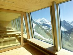 The Tracuit Mountain Hut (altitude 3256 metres) by Savioz Fabrizzi Architects belongs to the swiss alpine club and is situated in the heart of the.
