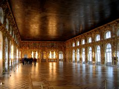 Catherine Palace, the Ball Room