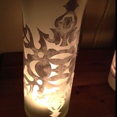 Paper snowflake, DIY mod podge, dollar store vase Dollar Store Crafts, Dollar Stores, Dollar Tree Vases, Diy Mod Podge, Paper Snowflakes, Activity Days, Winter Time, Bliss, Projects To Try