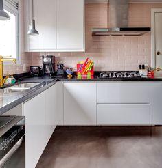 Revestimentos para Cozinhas: 90 Modelos, Projetos e Fotos