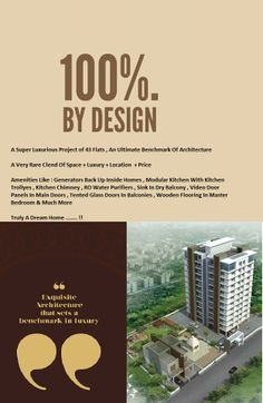 """""""POOJA ENCLAVE"""" Book your dream home with one of the most prominent addresses of Pune , hurry very few flats left"""