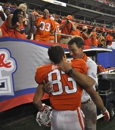 Clemson Tigers football player Daniel Rodriguez  #83   Coach DABO