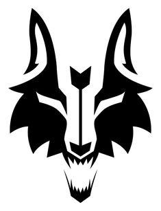 Guara wolf archery logo by Andres-Bazan on DeviantArt Wolf Tattoos, Animal Tattoos, Body Art Tattoos, Tatoos, Tribal Wolf Tattoo, Easy Drawings, Tattoo Drawings, Wolf Drawings, Archery Logo