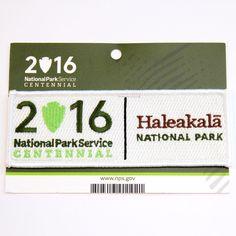 Official Haleakalā National Park Centennial Souvenir Patch Haleakala Hawaii 2016