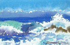 Samantha McNally Watercolors: Plein Air