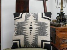 Pendleton blanket pillow