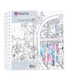 This Behind The Garden Gate Coloring Book Is Perfect Zulilyfinds