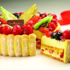 #crostata #crema e #frutta