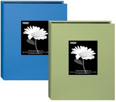 """Pioneer Fabric Frame Cover Photo Albums – Sky Blue and Sage Green – Holds 24 5"""" x 7"""" Photos *** Visit the image link more details. (This is an affiliate link and I receive a commission for the sales)"""