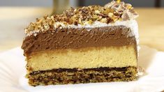 Čoko plazma torta – bez po muke do slatke čarolije (VIDEO) Food Cakes, Cupcake Cakes, Torte Recepti, Kolaci I Torte, Posne Torte, Torte Cake, Croatian Recipes, Chocolate Cheesecake, Special Recipes