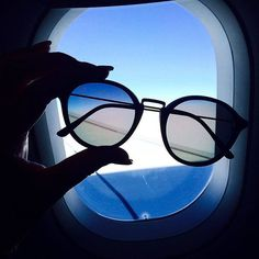 every flight is the start of a great new adventure - take your kapten sunnies with you like @instapusch | kapten-son.com