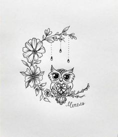40 Trendy Ideas Colorful Bird Tattoo Ideas Art - Home Cute Owl Tattoo, Cute Tattoos, Beautiful Tattoos, Body Art Tattoos, Tattoo Art, Owl Tattoo Small, Pin Tattoo, Circle Tattoos, Owl Tattoos
