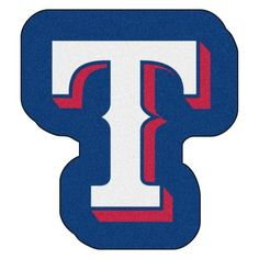 Looking for a unique rug to decorate your home or office with? Mascot Mats by Sports Licensing Solutions are great show stoppers that are practical and display team pride. nylon carpet and non-skid recycled vinyl backing. Texas Rangers Gear, Rangers Game, Logo Shapes, Team Mascots, Target Rug, Nylon Carpet, Types Of Carpet, Mlb Teams, Sports Baseball