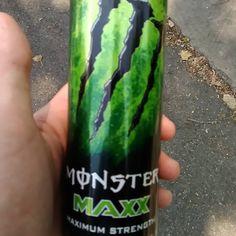New favorite #monster #energy #energydrink #monstermax #booster #drink #wakemeup #fire Monster Energy, Energy Drinks, Kawaii, Tin Cans