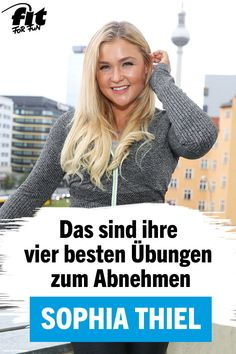 Wer ein paar Pfunde abspecken möchte, muss nicht zwangsläufig ins Fitnessstudi… If you want to slim down a few pounds, you do not necessarily have to go to the gym. Even the fitness icon Sophia Thiel is convinced of that. Fitness Style, Fun Fitness, Fitness Icon, Yoga Fitness, Healthy Weight Loss, Weight Loss Tips, Yoga Style, Best Weight Loss Exercises, Tummy Exercises