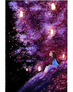 Beautiful art illustrations by Yaoyao Ma Van As Art Shared by Veri Apriyatno Artist . Art And Illustration, Art Illustrations, Cartoon Kunst, Cartoon Art, Anime Scenery, Anime Art Girl, Aesthetic Art, Belle Photo, Cute Art