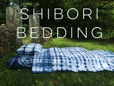 DIY Shibori Bedding, Tutorial from Land of Nod