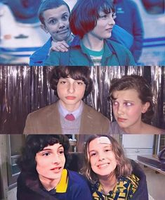 behind the scenes mileven from seasons 1 2 & by on Instag Stranger Things Actors, Stranger Things Aesthetic, Stranger Things Funny, Eleven Stranger Things, Stranger Things Netflix, Stranger Things Season, Admirateur Secret, The Doctor, Bobby Brown