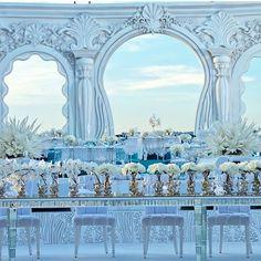 """Lebanese Weddings on Instagram: """"•••••••••••••••••••••••••••••••••••••••••••••••••••••••••• Spectacular Wedding set up by Weddings R us @ghadablanco . •••••••••••••••••••••••••••••••••••••••••••••••••••••••••• #tamaraandleonidas #lebaneseweddings @tammy_ze"""""""