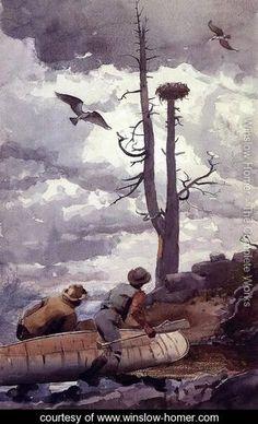 Osprey's Nest - Winslow Homer - www.winslow-homer.com