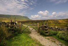 Pen-y-ghent or Penyghent is a fell in the Yorkshire Dales. It is one of the Yorkshire Three Peaks, the other two being Ingleborough and Whernside. At 694 meters ( 2276 feet ) from the peak there are stunning views over the Yorkshire dales and the Ribble valley