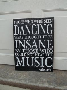 Those Who Were Seen Dancing Were Thought To Be by TheCraftyGeek86, $30.00