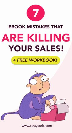 Writing your first eBook? Avoid these deadly ebook mistakes that most Bloggers make which result in no ebook sales and zero customers. Learn how to write and market your eBook like a pro! #ebook #makemoneyblogging #passiveincome Business Entrepreneur, Business Tips, Online Business, Pro Blogger, Online Work From Home, Blogging For Beginners, Make Money Blogging, Blog Tips, Creative Writing