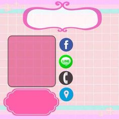 Poster Background Design, Love Background Images, Logo Slime, Hello Kitty Invitations, Logo Online Shop, Cartoon Chef, Doodle Frames, Instagram Frame Template, Book Logo