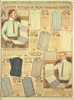 Men's Edwardian Shirts