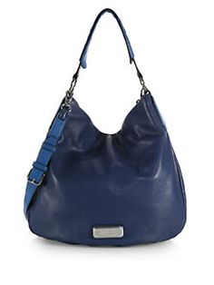 58e41ce27be2 Marc by Marc Jacobs - Hillier Two-Tone Hobo Bag Leather Hobo Handbags