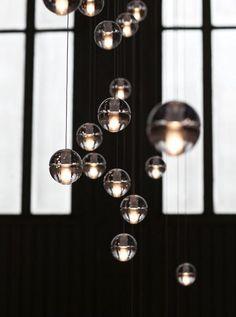Suspensions Bocci // Serie 14 // Boule de verre