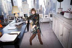 Anna Wintour on Fashion, Politics and Vogue — The Wall Street Journal Anna Wintour, Vogue Fashion Editor, Define Fashion, Mansion Interior, Future Clothes, Vogue Us, Future Fashion, Vogue Magazine, New York Fashion
