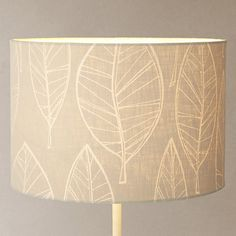 Buy John Lewis Leaf Lamp Shade Online at johnlewis.com 30cm diameter £25, 40cm diameter £35