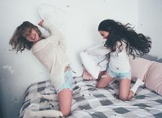 have pillow fights w/ your bff